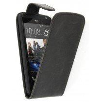 Flip case HTC Desire 300 zwart