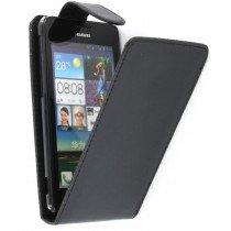 Flip case Huawei Ascend G510 zwart