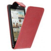 Flip case Huawei Ascend P6 rood