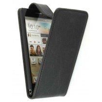 Flip case Huawei Ascend P6 zwart
