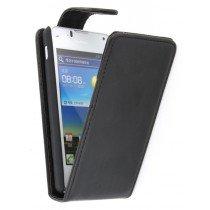 Flip case Huawei Ascend Y300 zwart