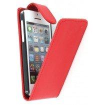Flip case Apple iPhone 5C rood