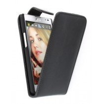 Flip case LG Optimus L9 P760 zwart