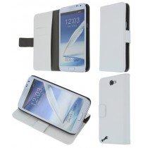Flip case met stand Samsung Galaxy Note 2 N7100 wit
