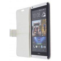 M-Supply Flip case met stand HTC Desire 816 wit