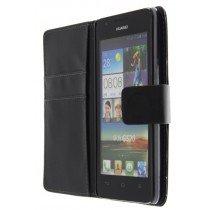 Flip case met stand Huawei Ascend G520 zwart