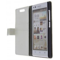 M-Supply Flip case met stand Huawei Ascend G6 wit