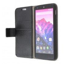 Flip case met stand LG Nexus 5 zwart