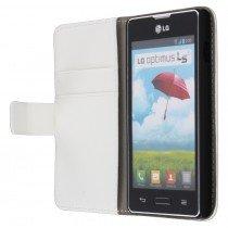 Flip case met stand LG Optimus L5 II E460 zwart