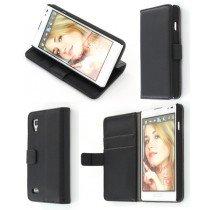 Flip case met stand LG Optimus L9 P760 zwart