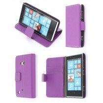 Flip case met stand Nokia Lumia 720 paars