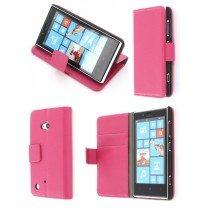 Flip case met stand Nokia Lumia 720 roze