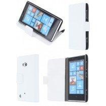 Flip case met stand Nokia Lumia 720 wit
