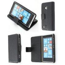 Flip case met stand Nokia Lumia 720 zwart
