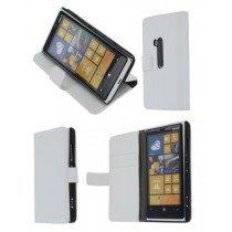 Flip case met stand Nokia Lumia 920 wit