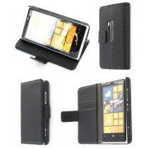 Flip case met stand Nokia Lumia 920 zwart