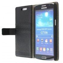 M-Supply Flip case met stand Samsung Galaxy Grand 2 zwart
