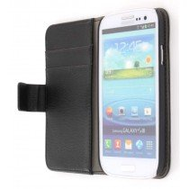 Flip case met stand Samsung Galaxy S3 i9300 zwart