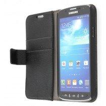 Flip case met stand Samsung Galaxy S4 Active i9295 zwart
