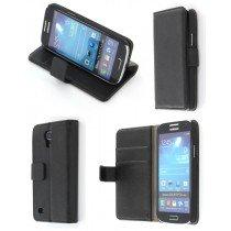 Flip case met stand Samsung Galaxy S4 Mini i9195 zwart