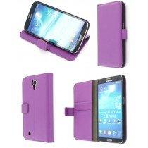 Flip case met stand Samsung Galaxy Mega i9200 paars