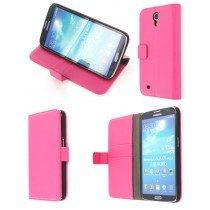 Flip case met stand Samsung Galaxy Mega i9200 roze