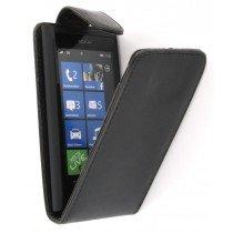 Flip case Nokia Lumia 800 zwart