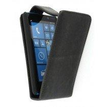 Flip case Nokia Lumia 820 zwart
