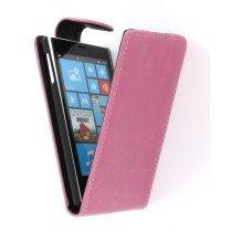 Flip case Nokia Lumia 720 roze