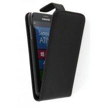 Flip case Samsung Ativ S i8750 zwart