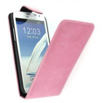 Flip case Samsung Galaxy Note 2 N7100 roze