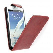 Flip case Samsung Galaxy Note 2 N7100 rood