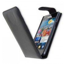 Flip case Samsung Galaxy S2 i9100 zwart