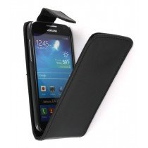 Flip case Samsung Galaxy S4 mini i9195 zwart