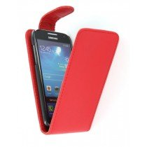 Flip case Samsung Galaxy S4 mini i9195 rood