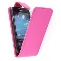 Flip case Samsung Galaxy S4 mini i9195 roze