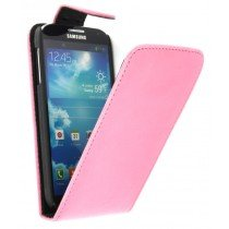 Flip case Samsung Galaxy S4 i9505 roze