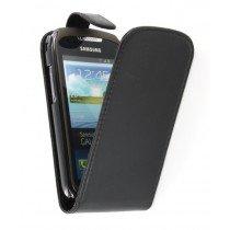 Flip case Samsung Galaxy Xcover 2 S7710 zwart