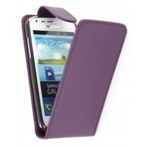 Flip case Samsung Galaxy Core i8260 paars