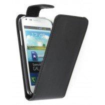 Flip case Samsung Galaxy Core i8260 zwart