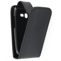 Flip case Samsung Galaxy Pocket Neo S5310 zwart