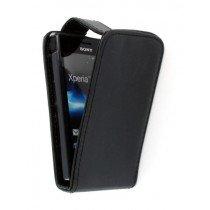 Flip case Sony Xperia Go zwart