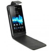 Flip case Sony Xperia Sola zwart
