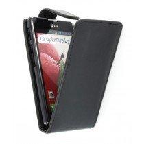 Flip case LG Optimus L7 II P710 zwart