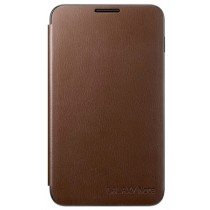 Samsung Galaxy Note flip cover bruin EFC-1E1FDECSTD