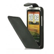 Flip case HTC One X / One X+ zwart