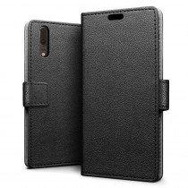 Flip wallet case Huawei P20 zwart