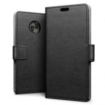 Flip wallet case Motorola Moto G6 zwart