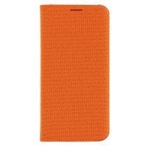 Flip Wallet fabric Samsung Galaxy S6 Edge EF-WG925BOE oranje