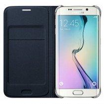 Flip Wallet Samsung Galaxy S6 Edge zwart